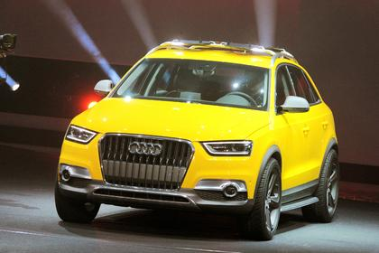 Auto China 2012: Audi Q3 als Drache im Wind