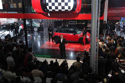 New Delhi Auto Expo 2012: MINI feiert Premiere in Indien