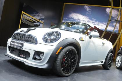 Detroit 2012: Weltpremiere des MINI Roadster