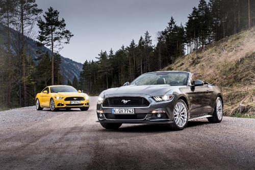 Ford Mustang - Convertible und Fastback