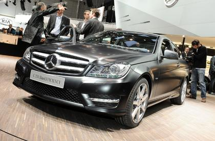 Mercedes Benz in Genf